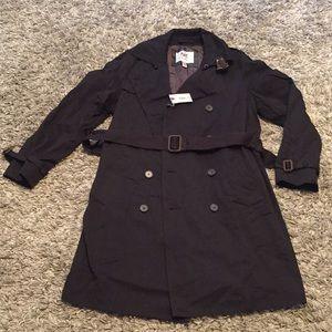 Hickey Freeman trench coat